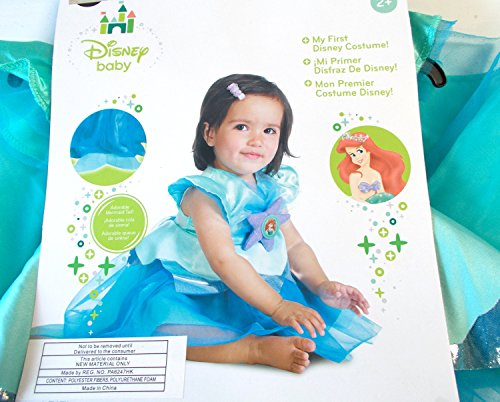 Disney Toddler 6-12 Months Baby Ariel Costume ()