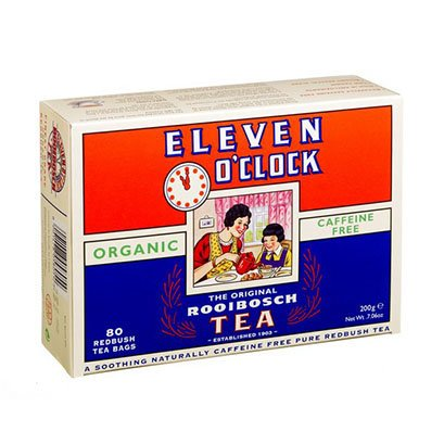 Eleven O'clock Org Rooibosch Tea 80 Bag (Pack of 5) by Eleven O'Clock