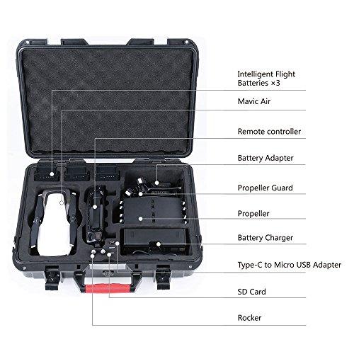 Smatree Mavic Air carrying case Camera Cases