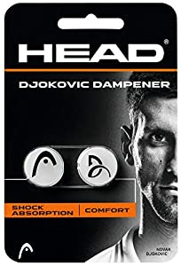 HEAD Schlägerzubehör Djokovic Dampener 2er, 285704-WH