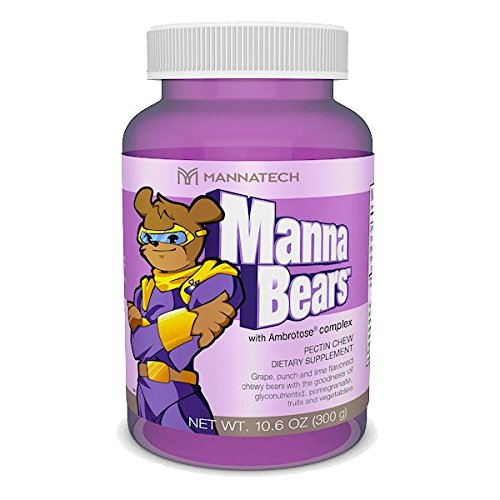 Mannatech Mannabears, the Sweetest Way to Provide Your Kids Antioxidant (Provide Antioxidant Protection)