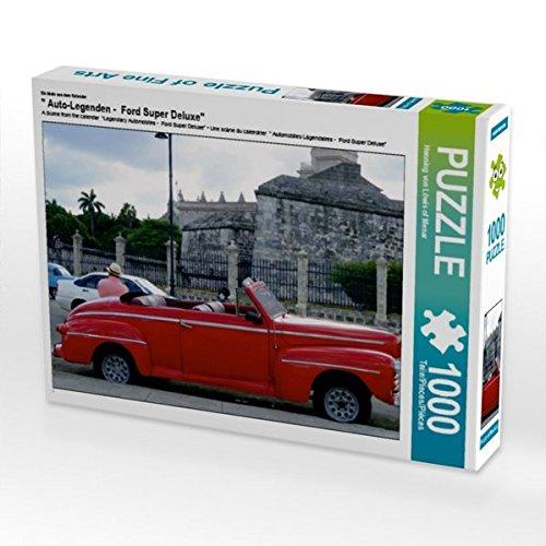 CALVENDO Puzzle  Auto-Legenden - Ford Super Deluxe 1000 Teile Lege-Größe 64 x 48 cm Foto-Puzzle Bild von Henning von Löwis of Menar B01LY3DKRJ Klassische Puzzles Kunde zuerst   Gewinnen Sie hoch geschätzt