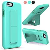 Best Phone Cases With Stands - iPhone 6 Case, iPhone 6S Case, ZVEdeng Vertical Review