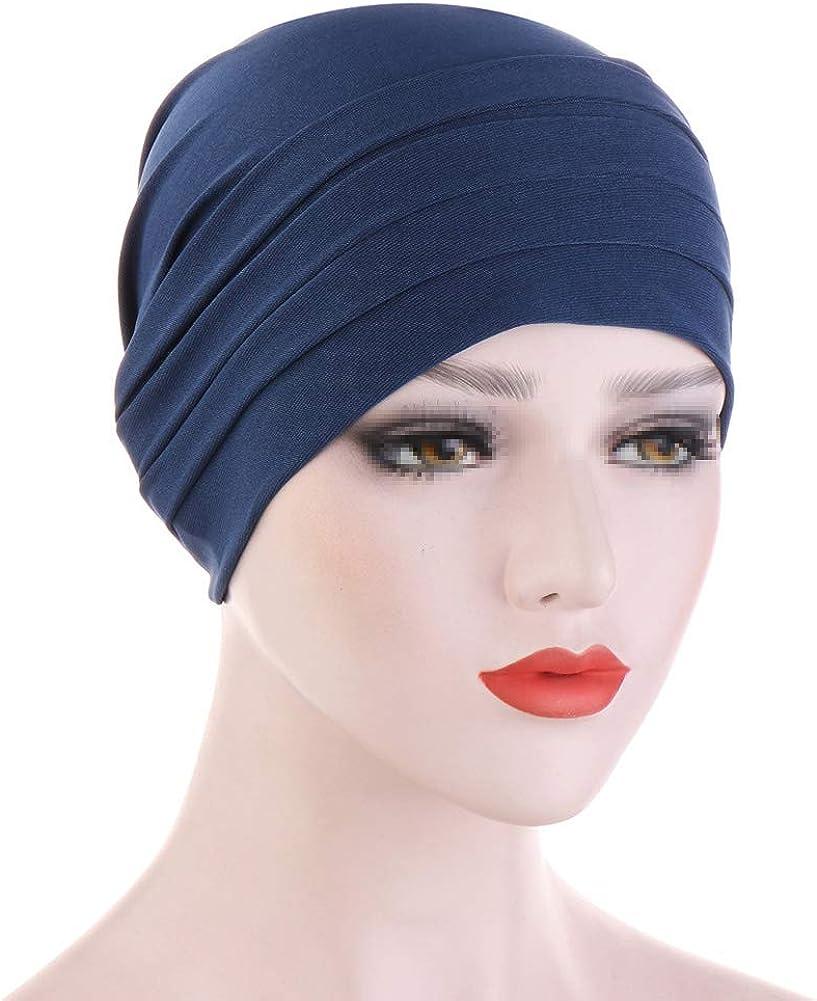 MoreChioce Twist Turban Kopfbedeckung Baumwolle Chemo Hut Kopftuch Elastische Headwrap Frauen Kopf Wraps Schals Beanie Cap Kappe Indische Bonnet