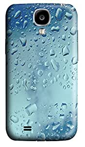 Samsung S4 Case Drops On Window 3D Custom Samsung S4 Case Cover