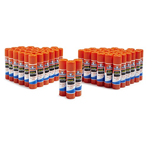 Large Product Image of Elmer's All Purpose School Glue Sticks, Washable, 60 Pack, 0.24-ounce sticks