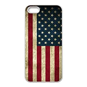 Personalized New Print Case for Iphone 5,5S, American Flag Phone Case - HL-R643478