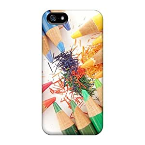 LastMemory Fashion Protective Colored Pencils Case Cover For Iphone 5/5s