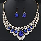 288# - 3 New Arrival Women Jewelry Pendant Choker Chunky Statement Chain Bib Necklace