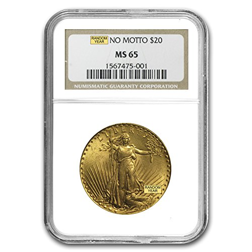 1907-1933 $20 Saint-Gaudens Gold Double Eagle MS-65 NGC G$20 MS-65 NGC 1933 Double Eagle Gold Coin