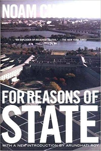 For Reasons of State: Noam Chomsky: 9781565847941: Amazon