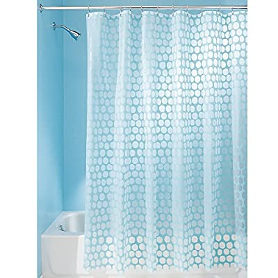 InterDesign Honeycomb Shower Curtain -  - shower-curtains, bathroom-linens, bathroom - 51F0pMW%2BfeL. SS400  -