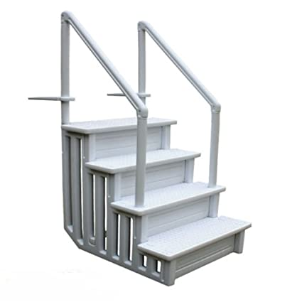 Above ground pool ladder Gate Image Unavailable Image Not Available For Color Above Ground Pool Ladder Amazoncom Amazoncom Above Ground Pool Ladder Non Slippery Step System Heavy