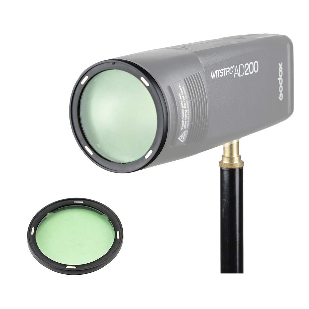 Godox AK-R1 Super Accessory Kit Honeycomb Snoot Diffuser and Filters Compatible AD200 H200R Camera Portable Flash by Godox (Image #6)