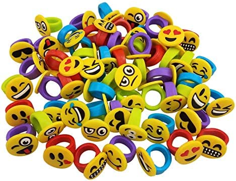 Amazon.com: Funeez - Lote de 60 anillos de silicona con ...