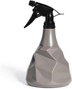 Dr.Uang Plant Spray Bottle Indoor for House Garden Plants, Mister Plastic Spray Bottles, Squirt Bottle for Hair, Refillable Sprayer with Mist and Stream Mode (0.7L/24 oz - Grey)