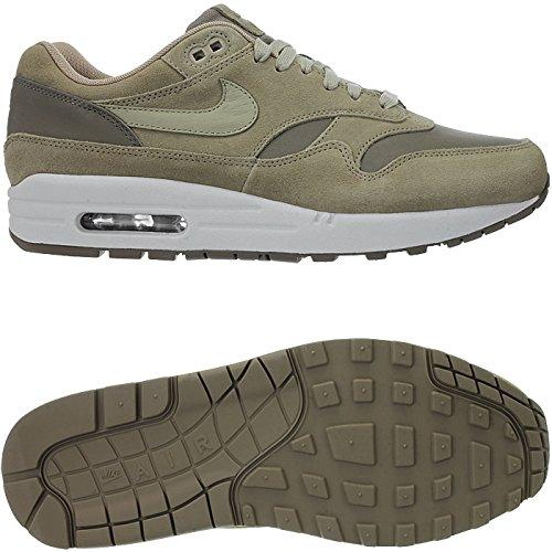 Nike Air Max 1 Premie Lederen Ah9902 201 Mannen Sneakers / Casual Schoenen / Low-top Sneakers Beige Camel