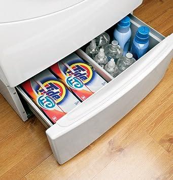 ge washers u0026 dryers pedestal white