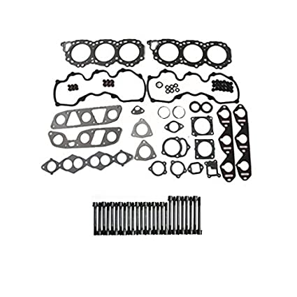 Amazon Com Cylinder Head Gasket Set Bolts Graphite For 1995 1998