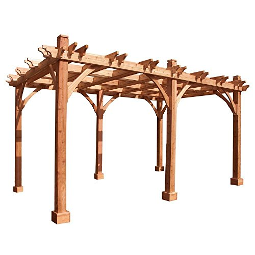 Outdoor Living Today Breeze Pergola Size: 16' W x 12' D