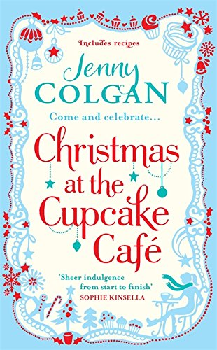 book cover of Christmas at the Cupcake Cafe