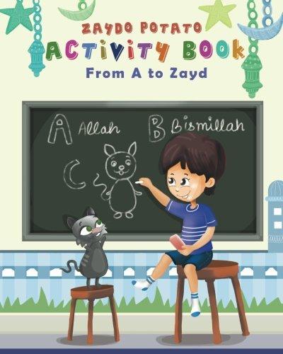 Zaydo Potato Activty Book From A to Zayd