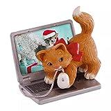 Hallmark Keepsake 2016 Mischievous Kittens Computer Mouse Ornament