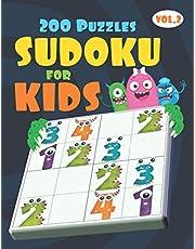 4x4 Sudoku for Kids Ages 4-8 & Kids Sudoku 6x6 | Very Easy Sudoku for Beginners: All Easy Sudoku Puzzle Books for Kids | Monster Book of Sudoku For Kids