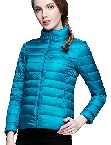 Donne Autunno Piumino E La Ultraleggero Delle Packable Lago Pulcino ideale Per Blu Ciliegio Primavera t4a1Rqw
