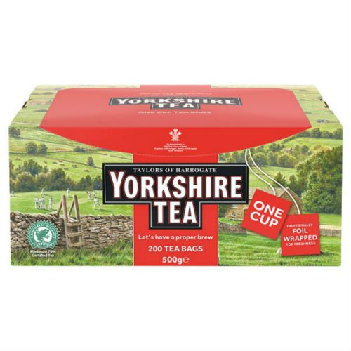 Yorkshire Tea 200 Tea Bags 500G X Case Of 4 by Yorkshire Tea