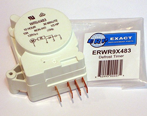 ERP WR9X483 for GE Refrigerator Defrost Timer Control (Refrigerator Ge Control Defrost)