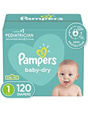 Diapers-Pampers Baby Dry Disposable Baby Diapers, Super Pack