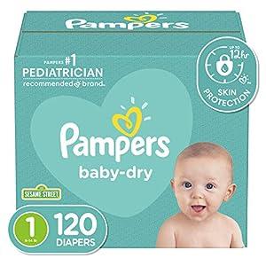 Diapers Newborn/Size 1 (8-14 lb),...