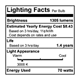 24PK Bulbrite 684472 H70PAR38SP/ECO 70-Watt ECO Halogen PAR38, 90W Halogen Equivalent, Medium (E26) Base, 120V, Spot