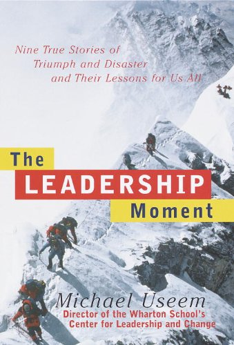 Leadership Moment Stories Triumph Disaster ebook product image