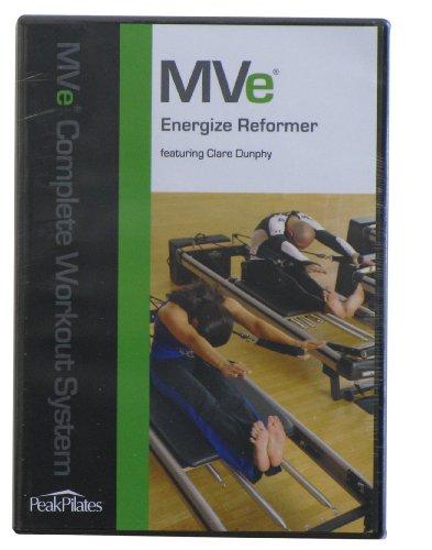 Peak Pilates Mve Energize Reformer Workout DVD