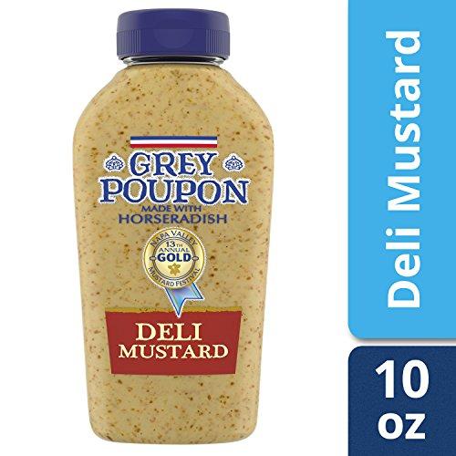 Grey Poupon Deli Dijon Mustard,10 ounce (Hot Dijon Mustard)