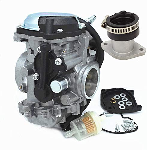 New Carburetor & Intake Manifold For Yamaha Bear Tracker for sale  Delivered anywhere in USA