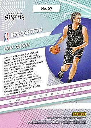 Amazon.com: 2018-19 Panini Revolution Basketball #67 Pau ...