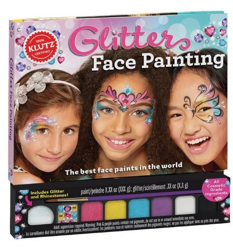 KLUTZ Glitter Face Painting Toy (Best Halloween Face Painting Ideas)