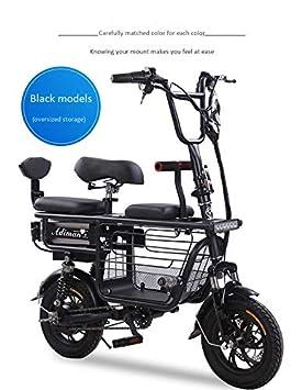 Bicicleta eléctrica Mini Plegable Dos Baterías de litio ...