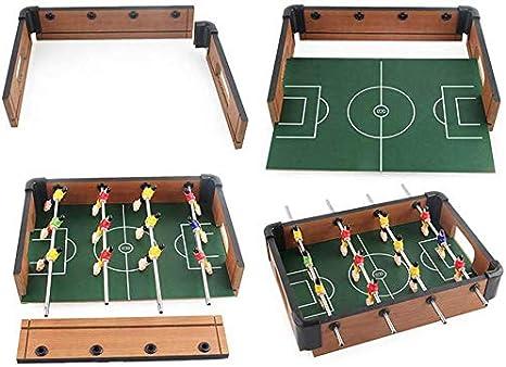 YUHT Futbolín Infantil,Mesa De Futbolín Mesa- Portátil Mini ...