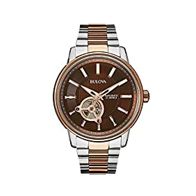 Bulova Men's Two Tone Automatic Watch