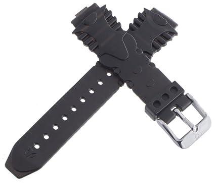 Bracelet De Noir En Boucle Montre Plastique Techno Marine Caoutchouc tsQhrdC
