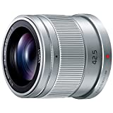 Panasonic LUMIX G 42.5mm F1.7 telephoto lens ASPH./POWER O.I.S. Silver H-HS043-S for Micro Four Thirds