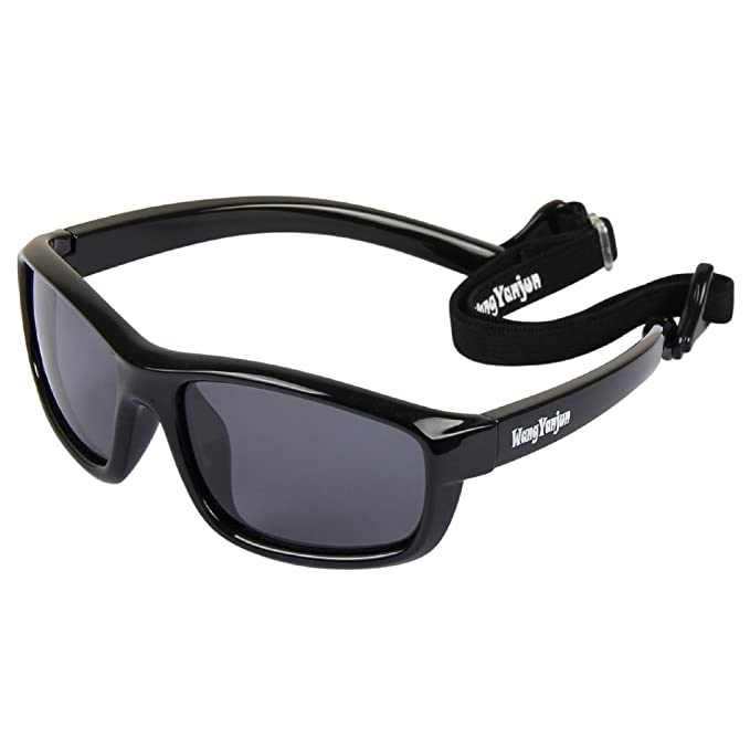 Amazon.com: wangyanjun anteojos de sol para niños niño niña ...