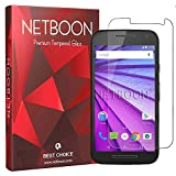 NETBOON Motorola Moto G Turbo Premium Quality Tempered Glass Screen Protector Full Transparent Screen Guard Gorilla Glass for Moto G Turbo