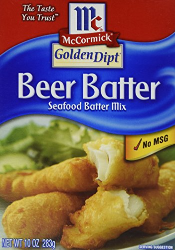 McCormick Golden Dipt Beer Batter Mix, 10 OZ