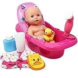 tub baby doll - Baby Doll Bathtub - Tub Set Featuring 12