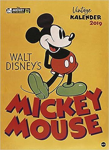 Mickey Mouse Edition - Kalender 2019: Amazon.de: Heye: Bücher